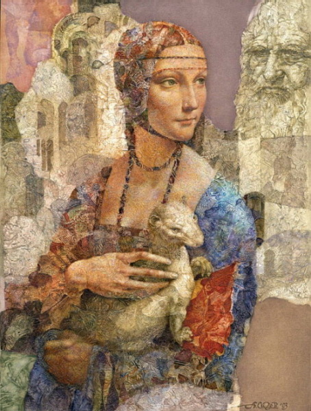 Современное прошлое:  Девушка и да Винчи