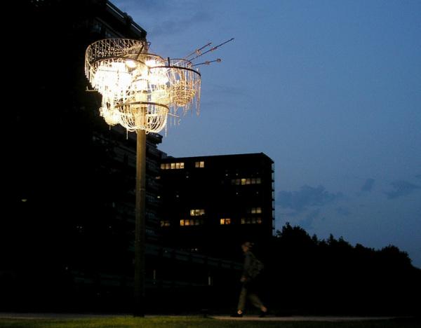 Sonja Vordermaier создала элегантную люстру в родном Гамбурге