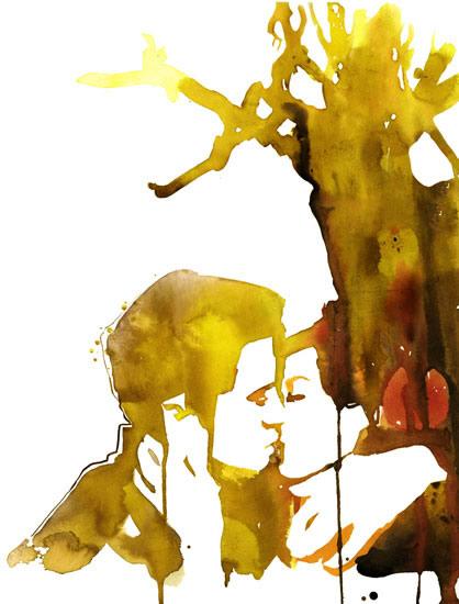 Цвета переливаются подобно стратсному поцелую