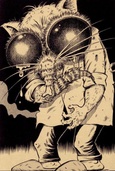 Tatsuya Morino перелопатил(а) все шедевры  ужастиков и научной фантастики
