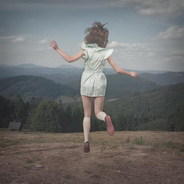 Tereza Vlckova и ее беззаботный сюрреализм