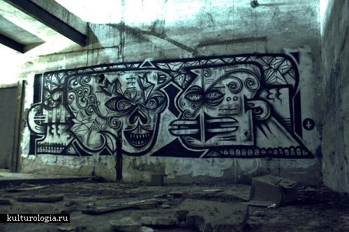 Шедевры уличного и городского искусства. часть 1. Tosco