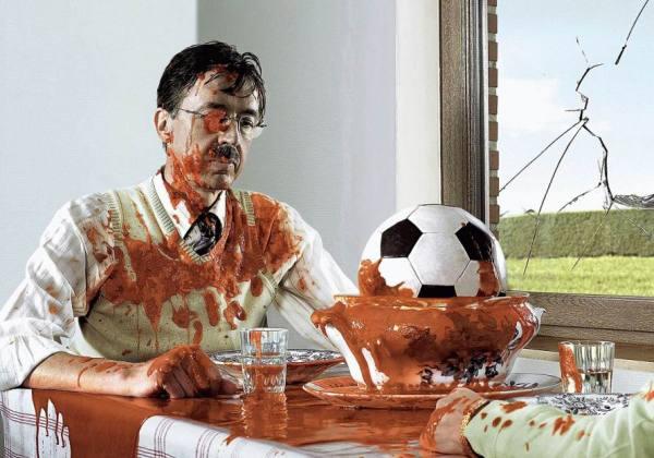 Frank Uyttenhove прививает любовь к футболу весьм анеобычным способом