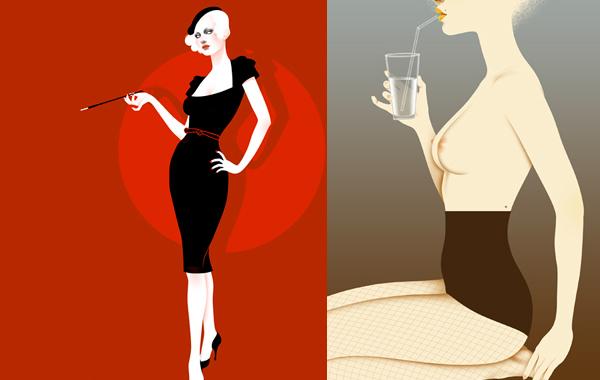 Autumn Whitehurst: сексуальные и стильные иллюстрации