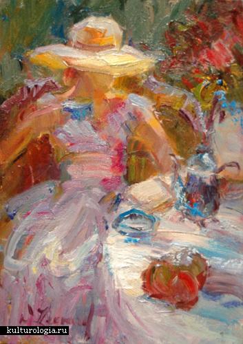 Diane Leonard – одна из лучших американских художников-импрессионистов.