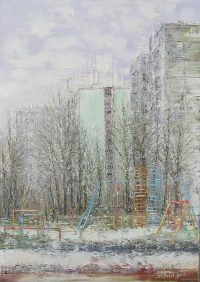 Современный импрессионизм: фактурная живопись Дмитрия Кустановича.