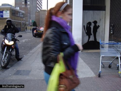 Шедевры уличного и городского искусства. часть 2. Fake