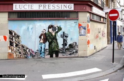 Одна голова хорошо, а две лучше: street art от французско-австрийского тандема Jana and Js.