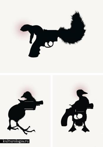 Стильные рисунки со скрытым смыслом от Jules Julian