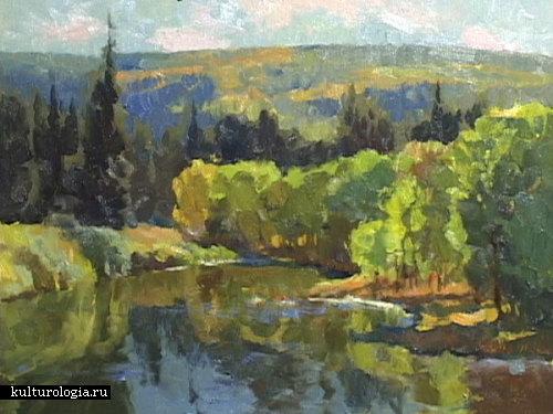 Прекрасные ландшафты от художника Kevin Macpherson.
