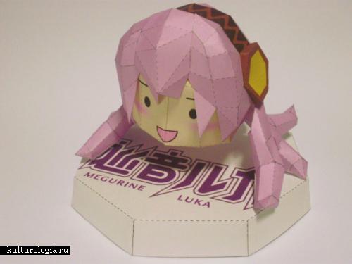 Оригами в стиле манги и аниме