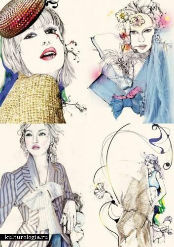 Уникальная техника рисунка маркером от  Pomme Chan