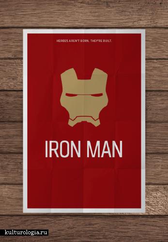 Постеры шедевров кино и сериалов в духе минимализма от двух дизайнеров