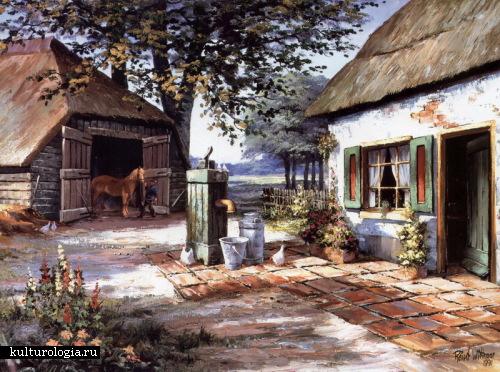 Сельские пейзажи от Reint Withaar.