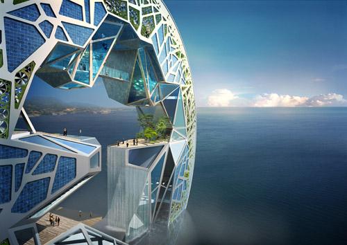 Экология и культура в проекте корейских архитекторов «Океанская фантазия».