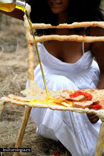 Мебель из хлеба «Panpaati»