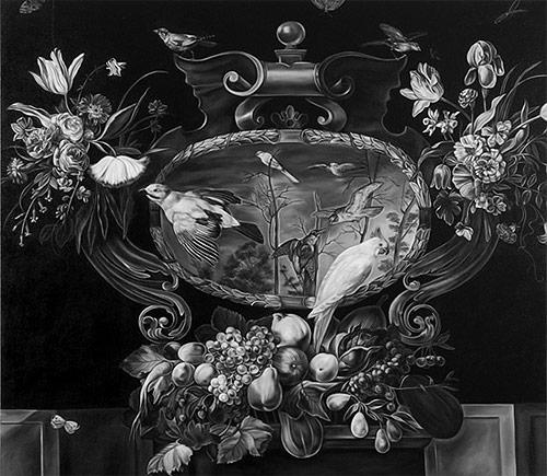 Черно-белые ремейки старинных картин от Shelley Reedd