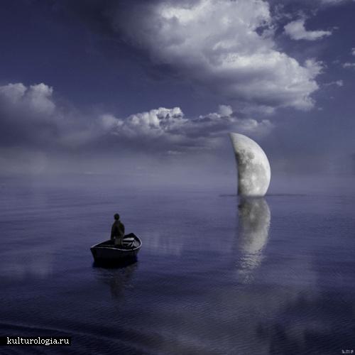 Заход луны Al Magnus