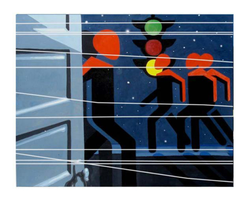 Магнитные бури из серии Пешеходы Ильдуса Фаррахова