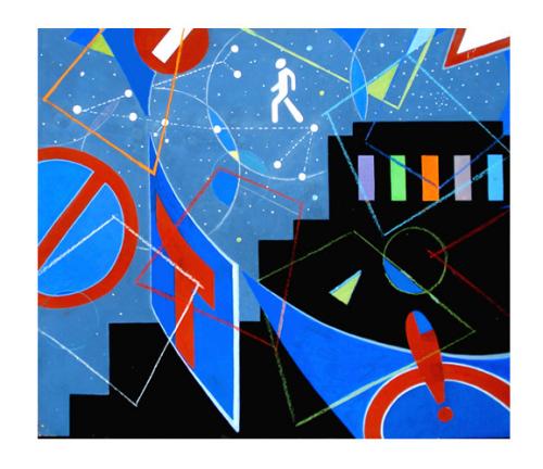 Ночь на Лысой горе  из серии Пешеходы Ильдуса Фаррахова