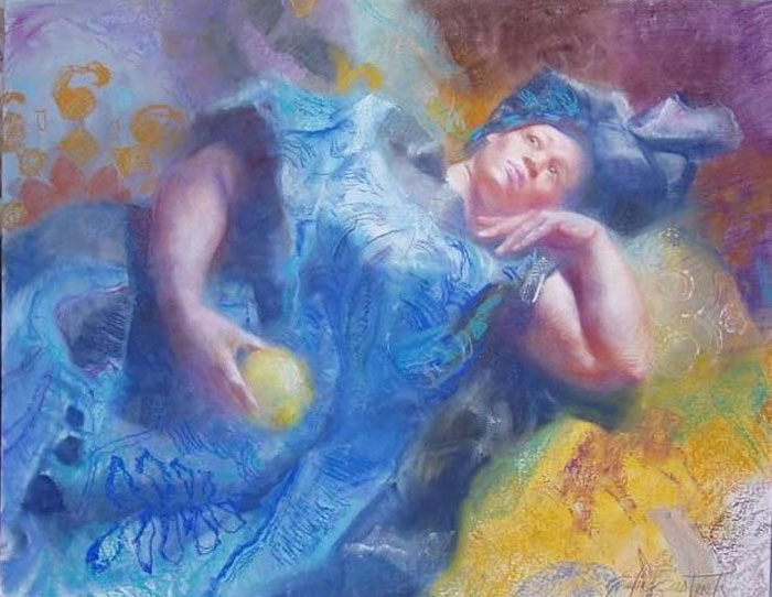 Картины  Эмилии Кастанеды Мартинес (Emilia Castaneda Martinez).