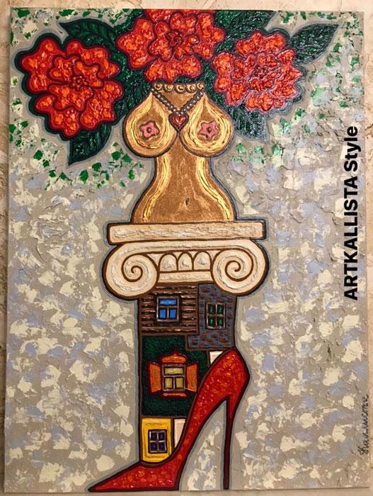 ARTKALLISTA - яркое направление в современном искусстве, созданное художником Каллистой Ивановой