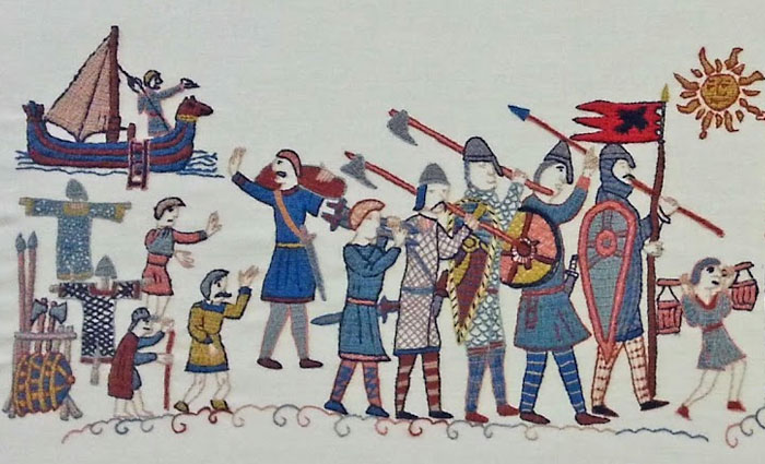Викинги отправились в последний поход на Англию.