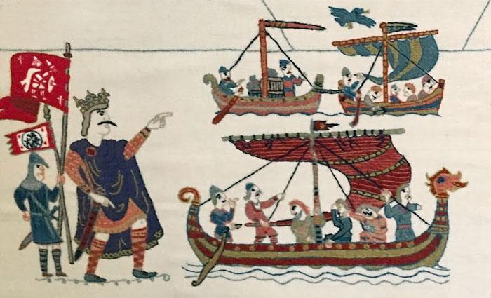 Гарольд победил викингов, после чего у захватчиков осталось воинов лишь на 24 корабля из трехсот.