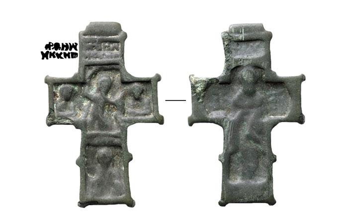 Бронзовый крест XVI в.
