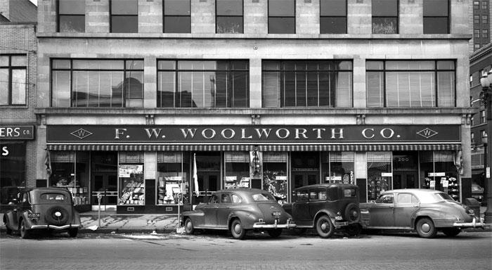 Магазин Вулворт.
