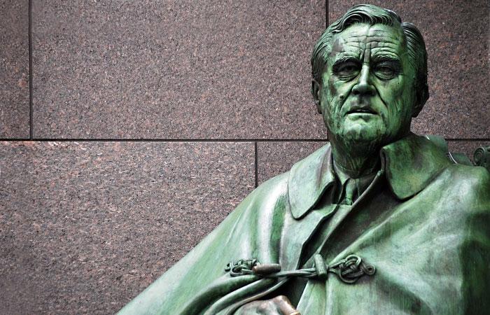 Монумент Франклину Рузвельту в США.