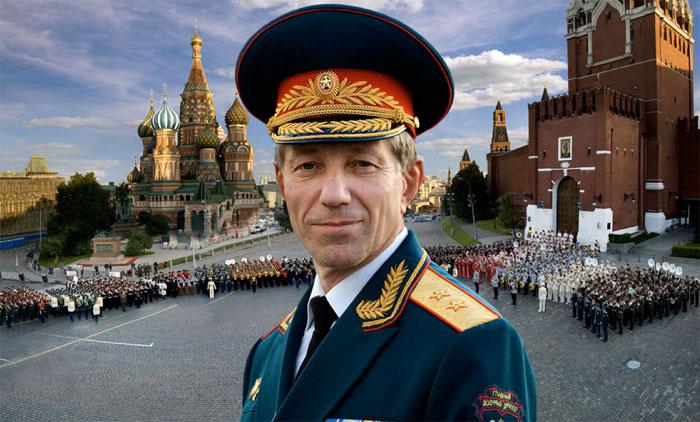 Музыкант и генерал Валерий Халилов.