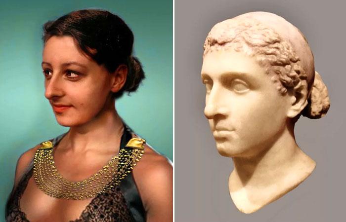 Царица Клеопатра. Современная реконструкция внешности.