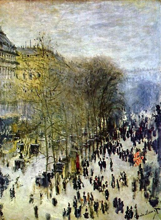 Клод Моне «Бульвар Капуцинок в Париже»