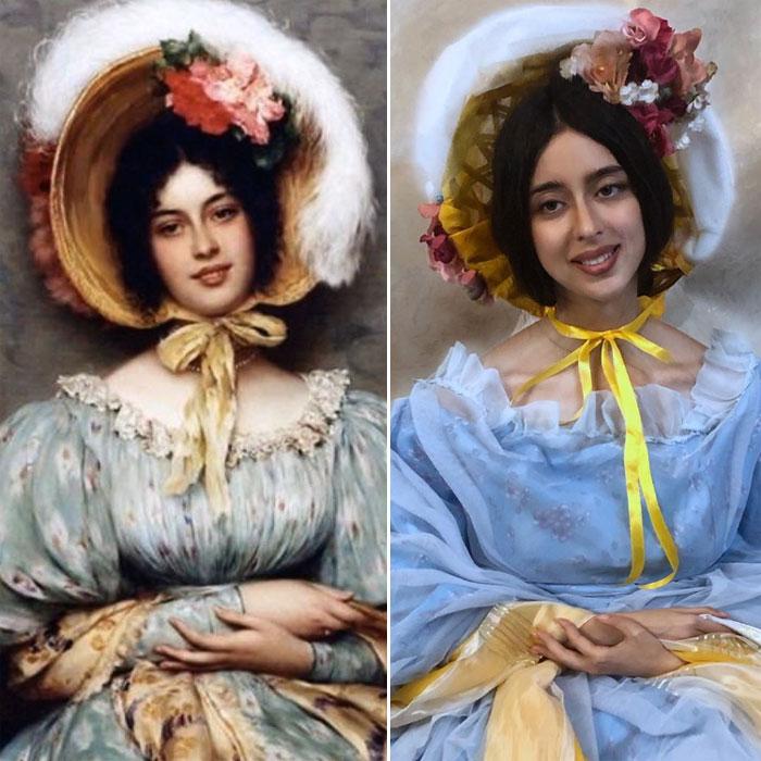 """Эжен де Блаас «Венская красавица», 1899 / Нана Муштакова."""""""