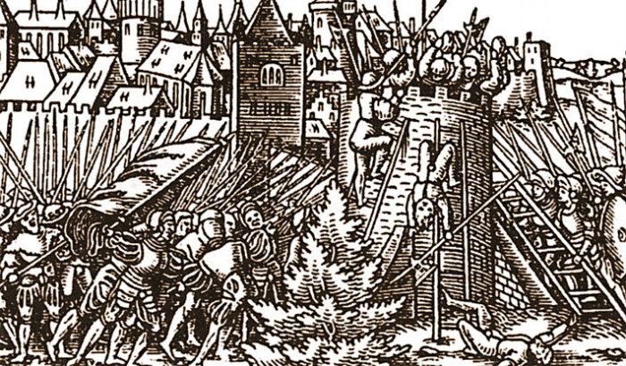 Битва за крепость Сокол.