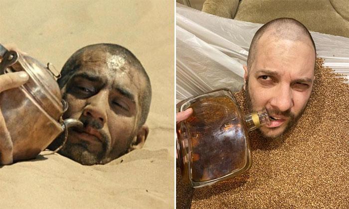 Александр Цыпкин в образе Саида из фильма «Белое солнце пустыни»