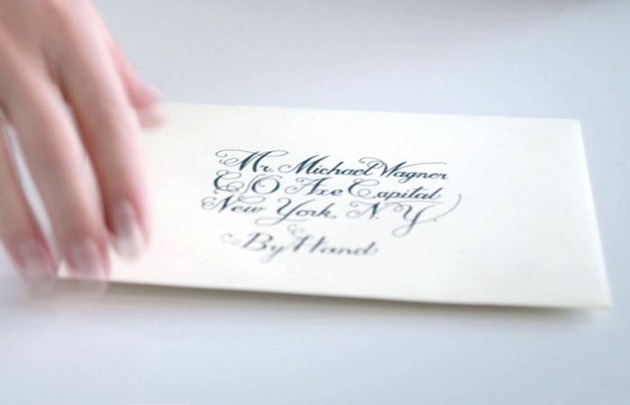Персональное приглашение на для вступления в закрытое общество миллиардеров «Каппа Бета Фи».