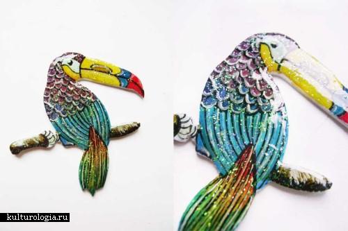 Украшения ручной работы из полимерной глины