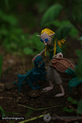 Персонажи из проволоки - Эльфийская принцесса