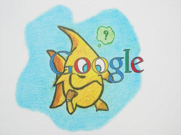 Дети рисуют логотип Google