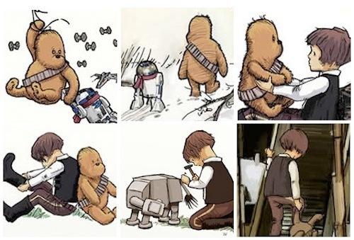 James Hance рисует Wookie the Chew. Звездный аналог мягкого Винни