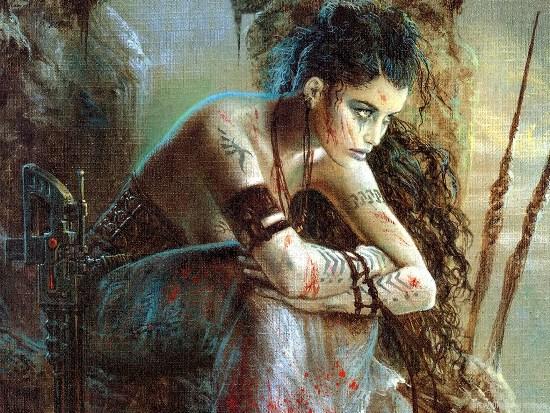 Luis Royo - романтика постапокалипсиса и борьба за выживание