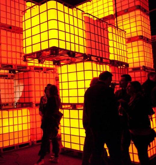 Инсталляция Kubik в Берлине. Интерактивная архитектура