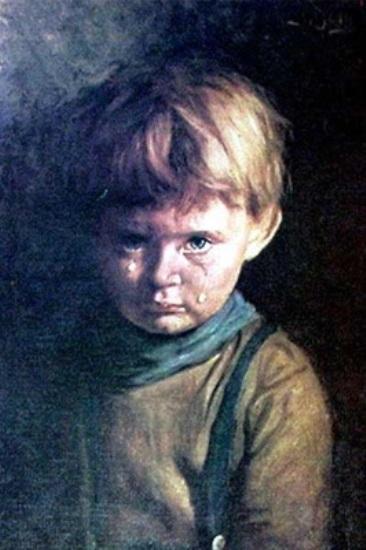 Crying Boy - Bruno Amadio