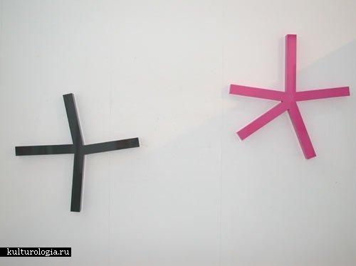 Lisa Jones и Daniel Goettin на выставке в Conny Dietzschold Gallery
