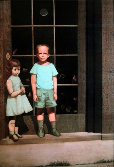 Hands Resist Him - Bill Stoneham