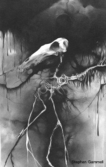 Skelleton Horse - Stephen Gammell
