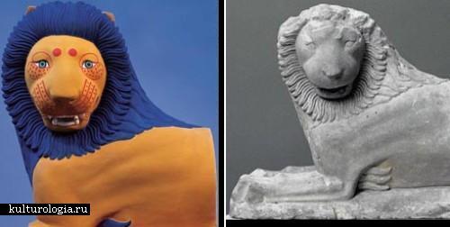 Истинные цвета античного искусства в ультрафиолетовом свете