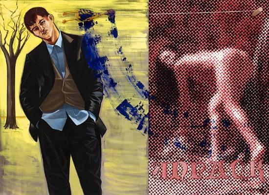 David Salle - неоэкспрессионист и освободитель живописи